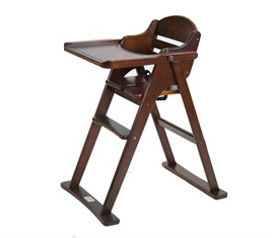 Timber Folding Highchair
