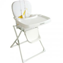 White Folding Highchair