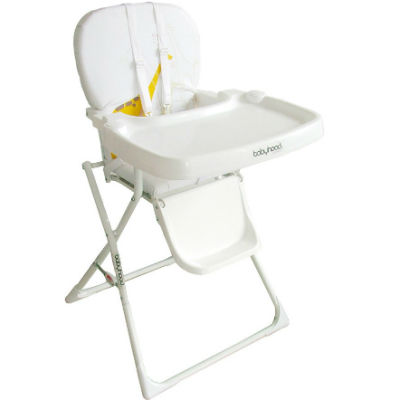 White Folding Highchair